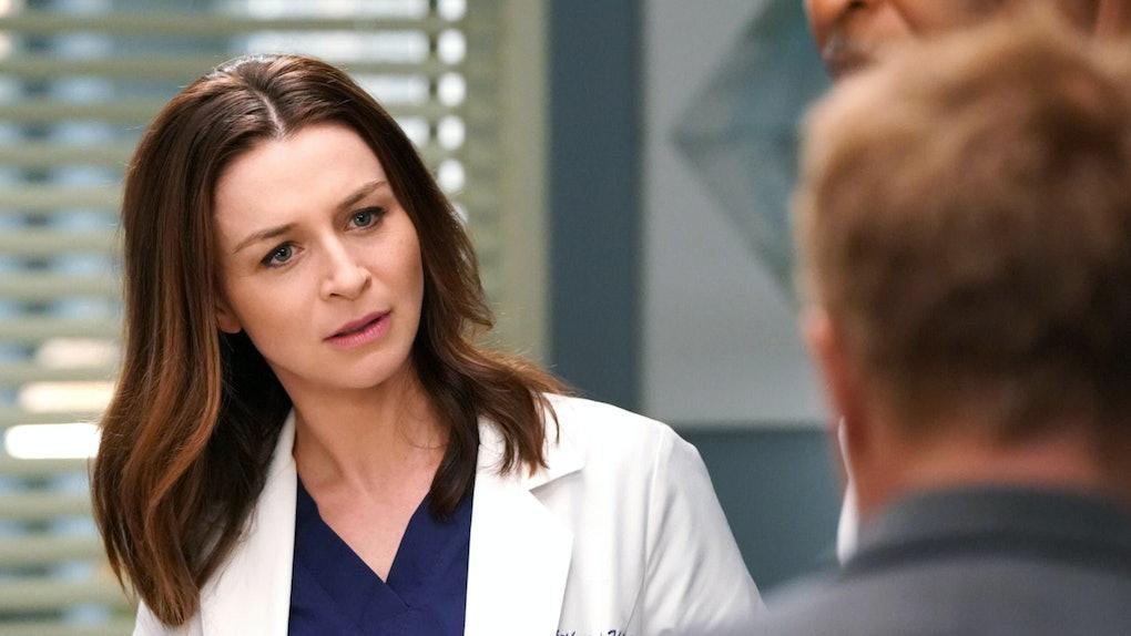 Amelia Shepherd on 'Grey's Anatomy'