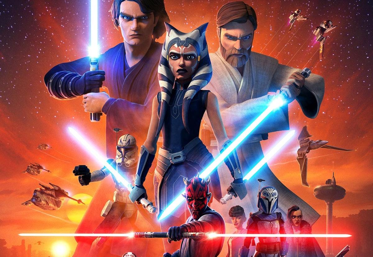 Star Wars: The Clone Wars key art