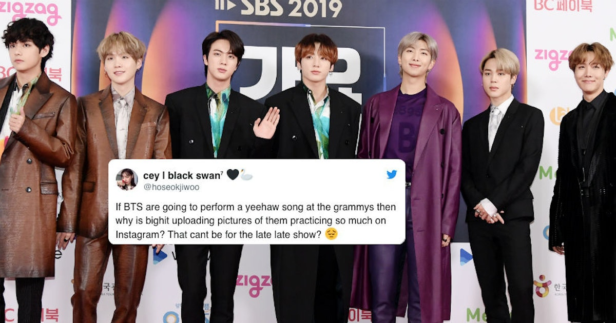 The Tweets About BTS' Rumored Grammys Performance With Lil Nas X Are So Hype