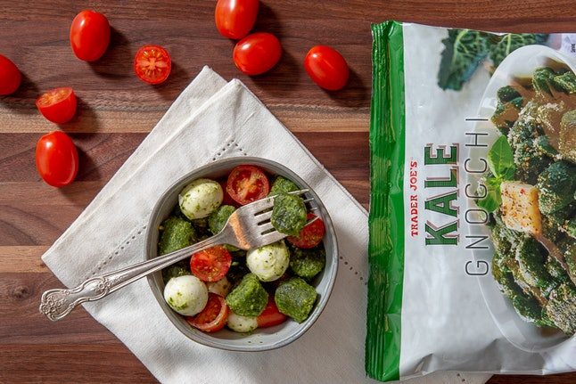 Trader Joe's has new kale gnocchi in the freezer aisle.