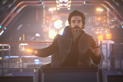 Santiago Cabrera in the new Picard.