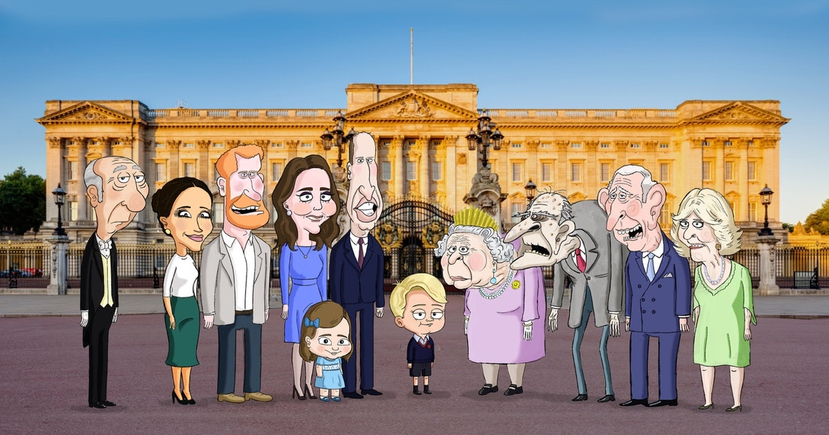 'The Prince' On HBO Max Is An Irreverent, Animated Take On The Royal Family