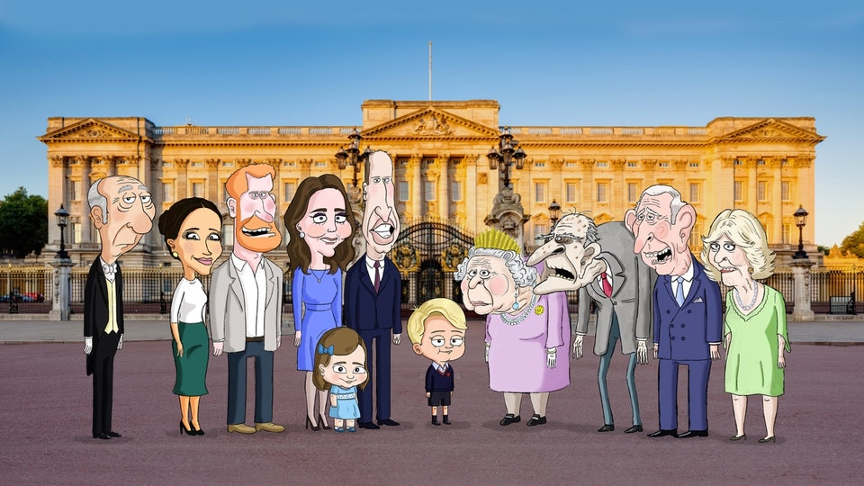 Britain's Royal Family is set to get animated in a new satirical comedy for HBO Max.