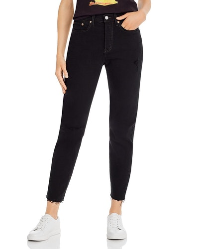 Wedgie Icon Cropped Jeans