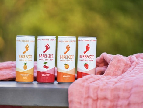 Barefoot Wine is coming out with a line of hard seltzer.