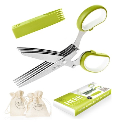 Multipurpose Cutting Shears with 5 Stainless Steel Blades