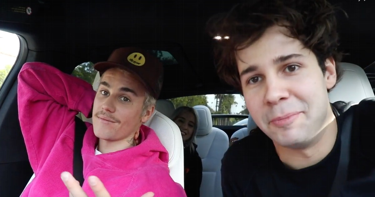 David Dobrik's Story About Justin Bieber Tickling Him At The Club Is So Ridiculous