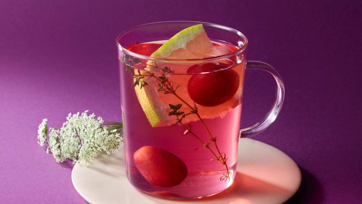 Wondering What's In Starbucks' BTS Drink? It's a blend of grape juice, grapes, and elderflower that ...