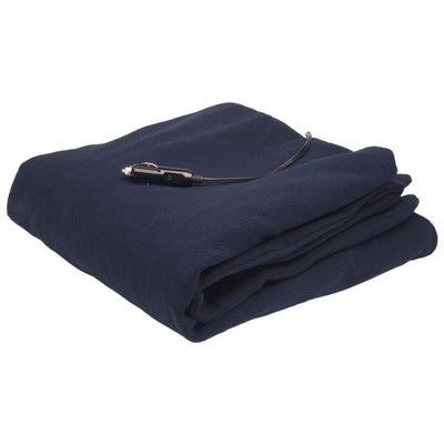 Roadpro Polar Fleece Heated Travel Blanket
