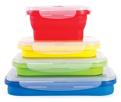 Thin Bins Collapsible Containers – Set of 4