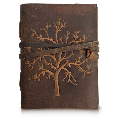 Moonster Leather Journal Tree Of Life