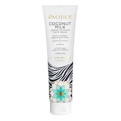 Pacifica Beauty Coconut Milk Cream to Foam Face Wash