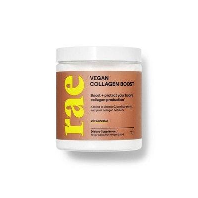 Vegan Collagen Boost Dietary Supplement Bulk Powder - Unflavored