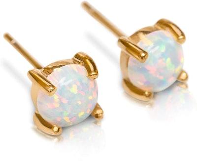 Benevolence LA Hypoallergenic Opal Studs
