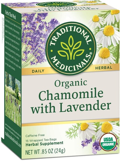 Traditional Medicinals Organic Chamomile With Lavender Tea (6-Pack)