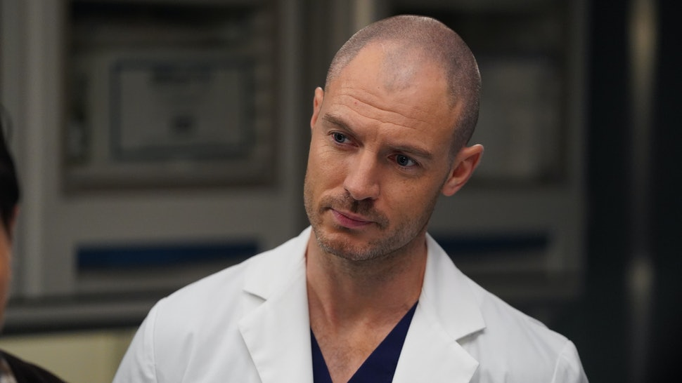 Richard Flood stars as Cormac Hayes on Grey's Anatomy.