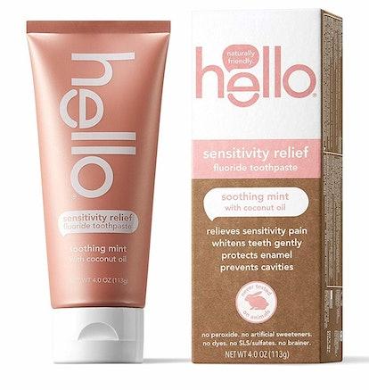 hello Sensitivity Relief Toothpaste
