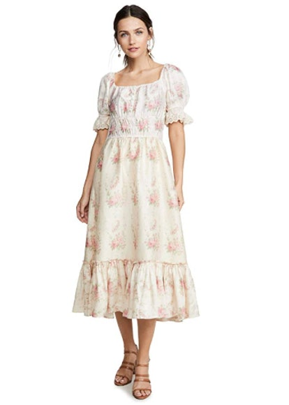 LOVESHACKFANCY Women's Terrence Dress