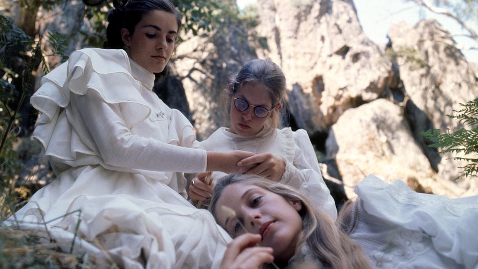A still from picnic at hanging rock
