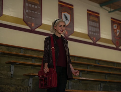 Kiernan Shipka as Sabrina in Chilling Adventures of Sabrina Season 2