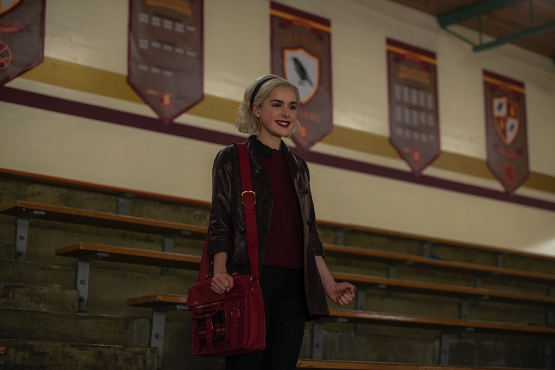 Kiernan Shipka as Sabrina in Chilling Adventures of Sabrina Season 2
