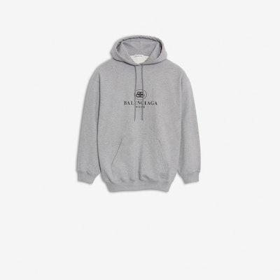 Mottled Gray BB Mode Hoodie