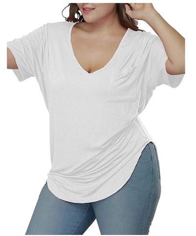 Allegrace Womens Casual T-Shirt