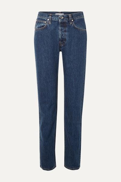 Masc High-rise Straight-leg Jean