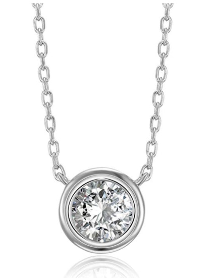 PAVOI 14K Gold Plated CZ Necklace
