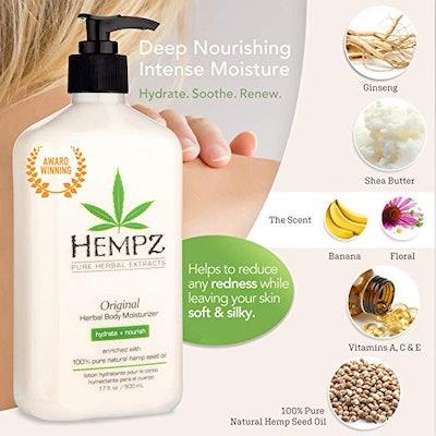 Hempz Natural Hemp Seed Moisturizer