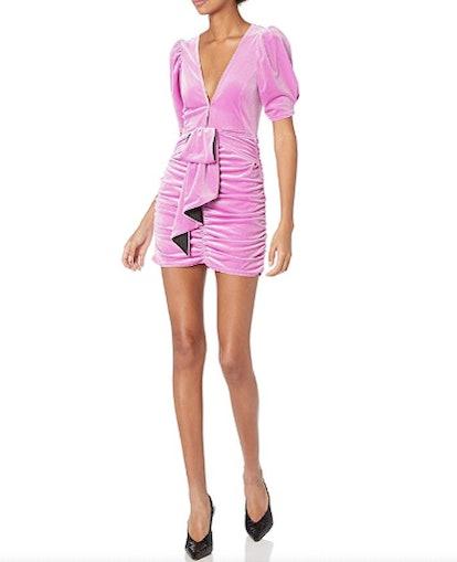 For Love & Lemons Women's Lola Velvet Mini Dress