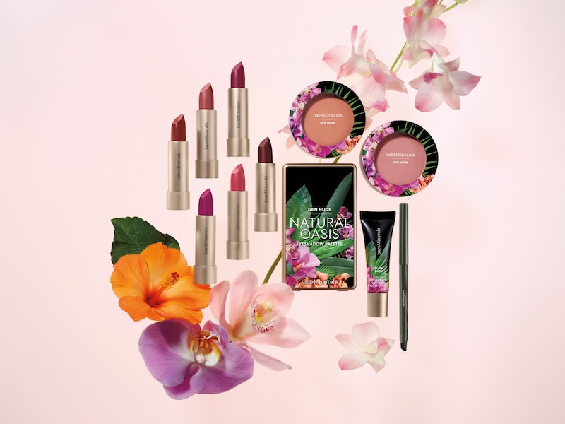bareMinerals' new Beauty of Nature makeup collection features lipstick, eyeshadow, glow balm, and mo...