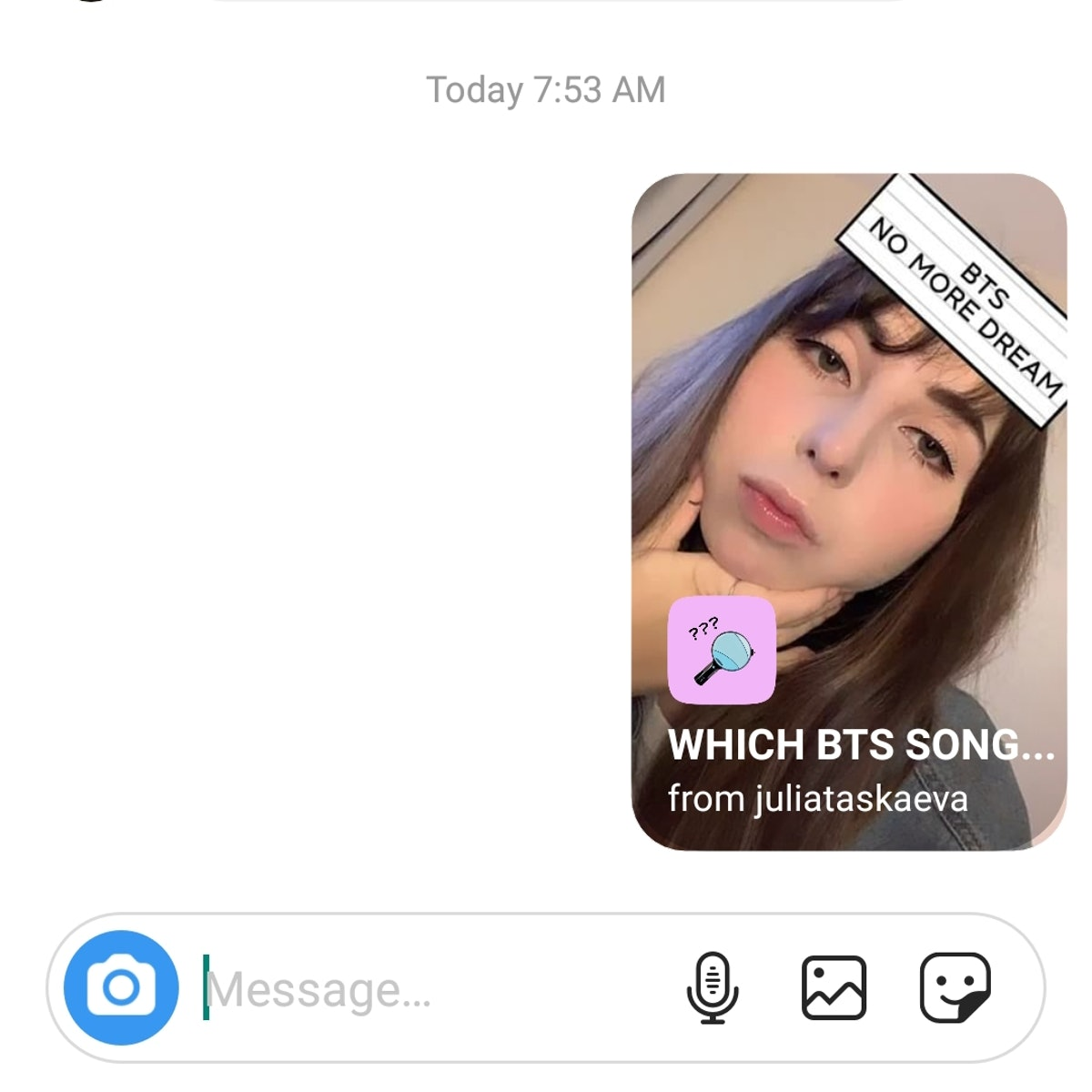"""Here's How To Get The """"Which BTS Song"""" Instagram Story Filter to see which BTS song you are."""