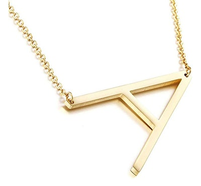 Scaleer Initial Necklace