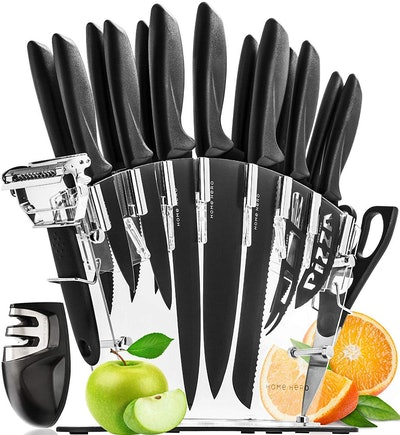 Home Hero Knife Set With Block