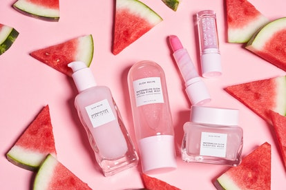 Glow Recipe's Watermelon Glow Lip Pop expands its existing range of watermelon skincare.