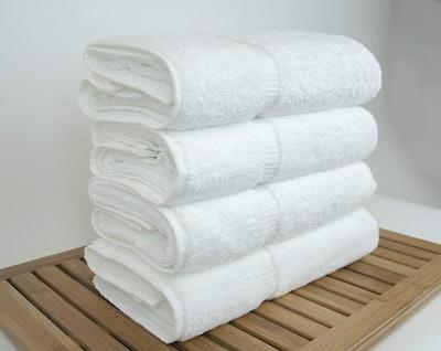 Chakir Turkish Linens Towels (4-Pack)