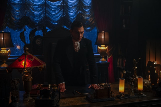 Richard Coyle as Father Blackwood in Chilling Adventures of Sabrina Part 2