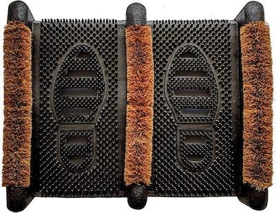 Ninamar Mud Scrubber Rubber Brush Mat