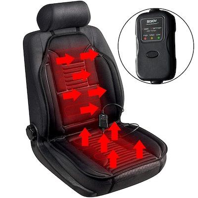 Sojoy Universal 12V Heated Smart Multifunctional Car Seat Heater