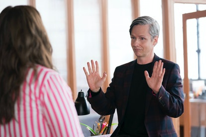 John Cameron Mitchell as Gabe in Shrill
