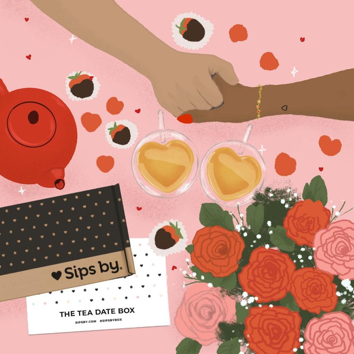 Valentine's Day Tea Box - Tea Date Box