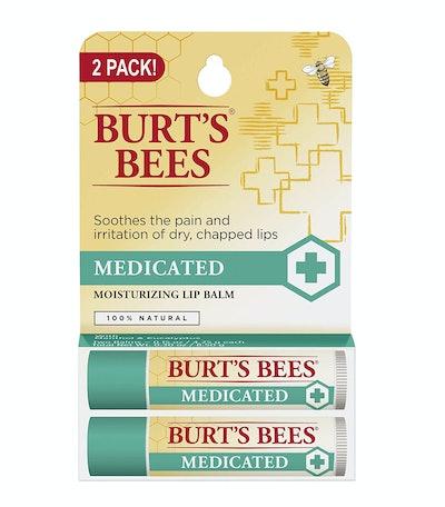 Burt's Bees Medicated Lip Balm (2-Pack)