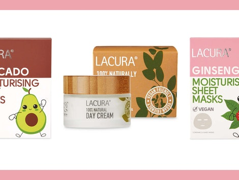 Aldi's Lacura has launched its first vegan skincare range