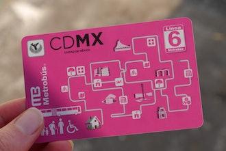 CDMX bus pass