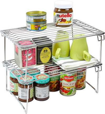 Deco Brothers Stackable Kitchen Cabinet Organizer (2-Pack)