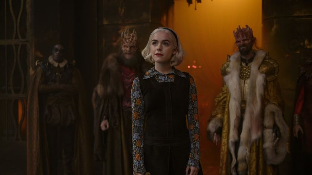 'Chilling Adventures of Sabrina' had twisty timelines
