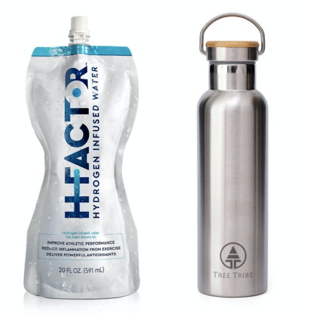 Hydrogen water is one of the wellness items in the 2020 Grammys gift bag; a stainless steel reusable bottle is a cheaper dupe.