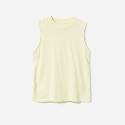 The Cotton Mockneck Muscle Tank