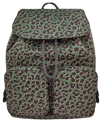 Leopard Reflector Backpack